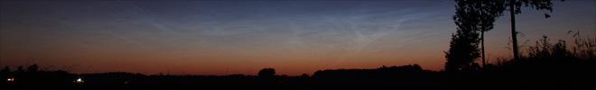Lichtgevende nachtwolken juli 2008