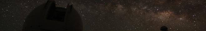 Melkweg boven de WHT